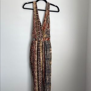Urban Outfitters Printed Jumpsuit